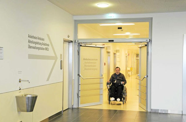 Accessible Automatic Door